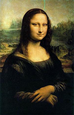 Mona Lisa flip