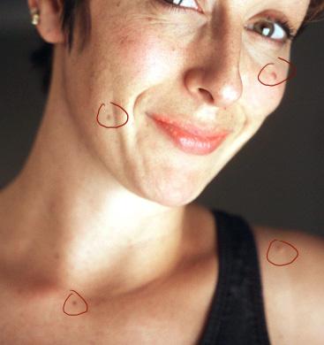 Простая ретушь лица 4