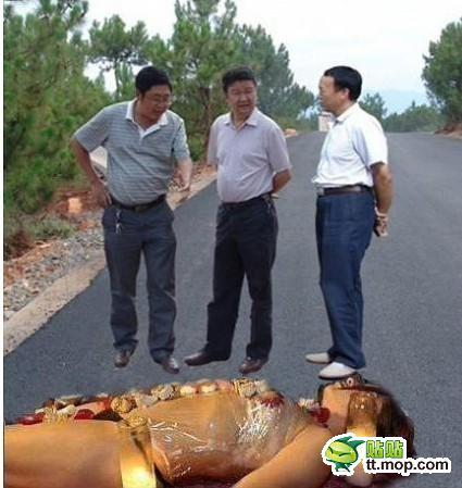 Фото прикол с левитирующими чиновниками (10)
