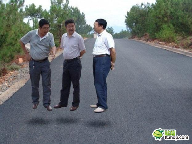 Фото прикол с левитирующими чиновниками (23)