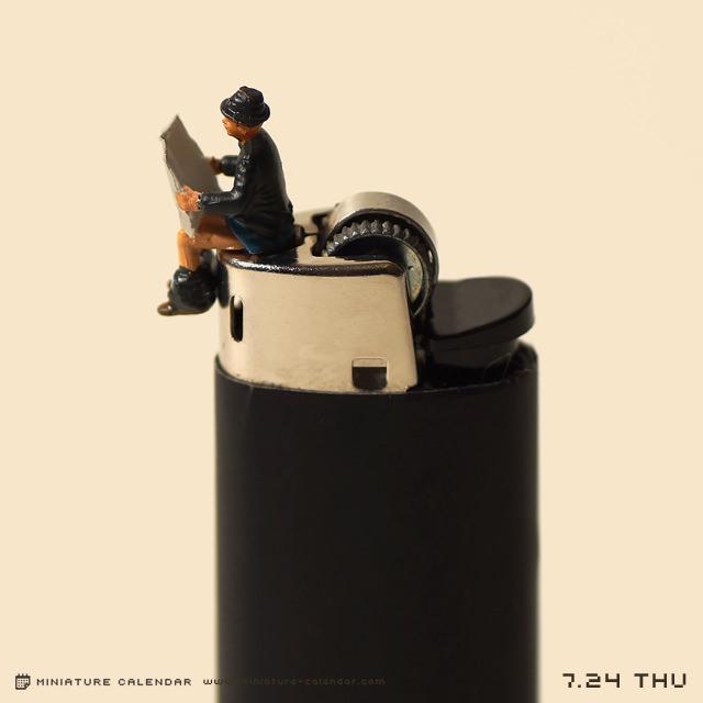 Ежедневные мини-диорамы (7)